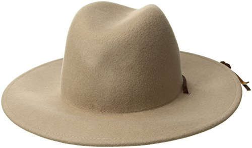 76c53946257 Amazon.com  Brixton Men s Field Wide Brim Felt Fedora Hat  Clothing