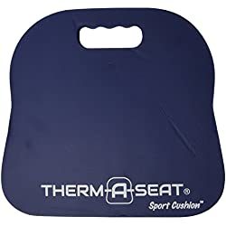 NEP Outdoors Therm-a-Seat Sport Cushion Sporting Event Seat Pad, Navy