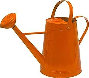 Tierra Garden 36-5081O Traditional Watering Can, 2.1-Gallon, Orange