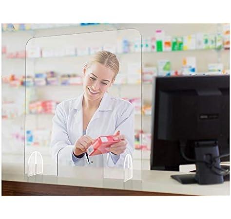 Oedim Mampara de Metacrilato de 4mm   66x75cm   Pantalla de protección para Bancos, Supermercados, Notarias, Estancos, Farmacias, Clínicas y Dentistas: Amazon.es: Hogar
