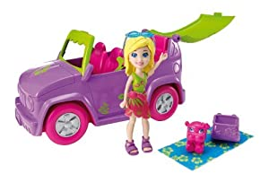 Polly Pocket Drive 'N Slide Vehicle by Polly Pocket