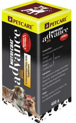 Petcare Nutri-Coat Advance Concentrated Fatty Acids Supplement (400 g)