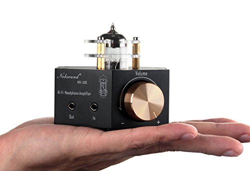 Nobsound NS-02E Vacuum Tube Headphone Amplifier