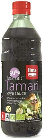 Lima Tamari 50 Salsa de Soja Sal Reducido