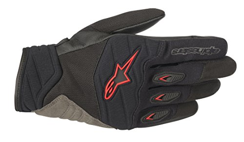 eet Riding Glove (L, Black Red) ()