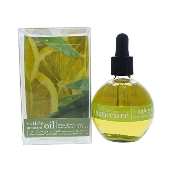 White Limetta; Aloe Vera Cuticle Oil 73ml (2.5oz)