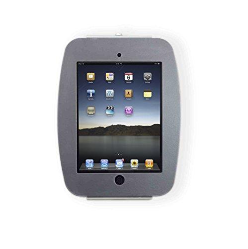 Maclocks 224SENS Space Enclosure Wall Mount for iPad 2,3,4,Air,Air 2, Pro 9.7, New iPad 9.7 (Silver) by Compulocks