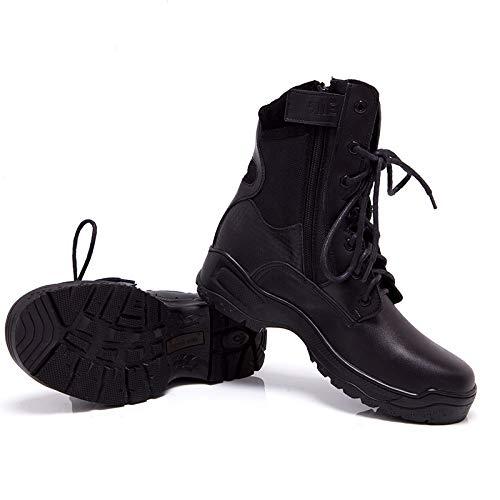 HCBYJ Schuhe Herrenschuhe Herrenschuhe Herrenschuhe Militärstiefel Haken Desert Outdoor Stiefel ultraleichte Laufdämpfung wasserdicht atmungsaktiv 528941