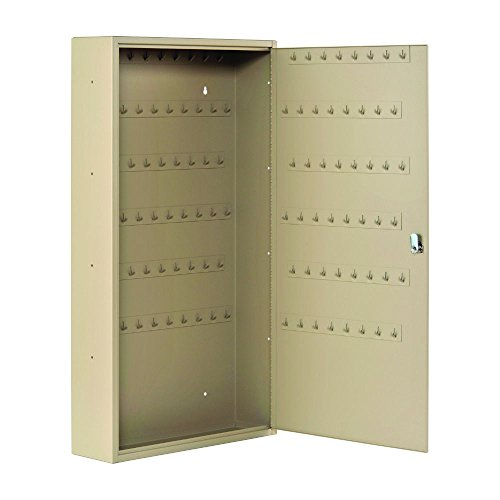 STEELMASTER Fob Friendly Key Cabinet, 90 Key Capacity, Sand (201F09003)