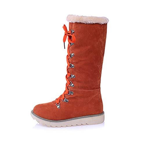 donna Orange 37 arancione Stivali QHJ Orange 6xTPpZq