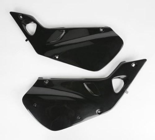 UFO HO03602001 Replacement Plastic (FOR HONDA SD CVR CR250 97-99 BLACK)