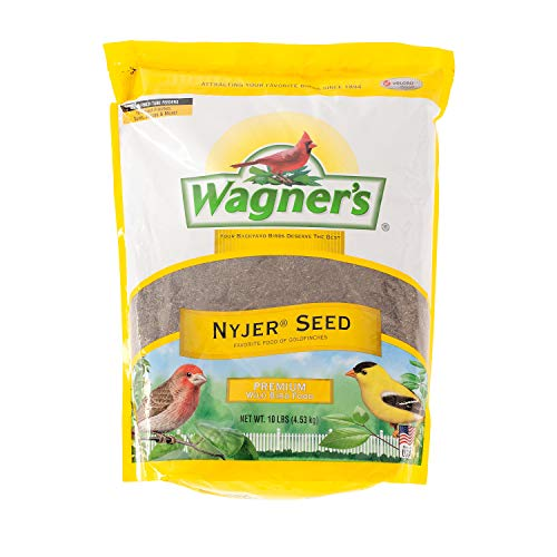 Wagner's 62050 Nyjer Seed Bird Food, 10-Pound Bag from Wagner's