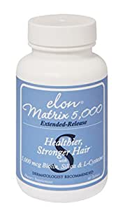 Elon Matrix 5,000 - Vitamin for Hair 60 capsules