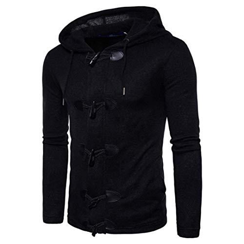 à Fit couleur pour Vestes Taille Slim large X Automne foncé capuche Noir hommes Oudan Gris Hiver YqFw5C