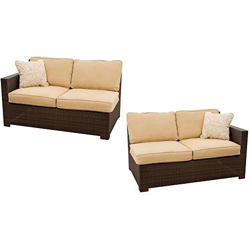 Metropolitan 2 Pc. Seating Set - Two Deep Cushioned Loveseats