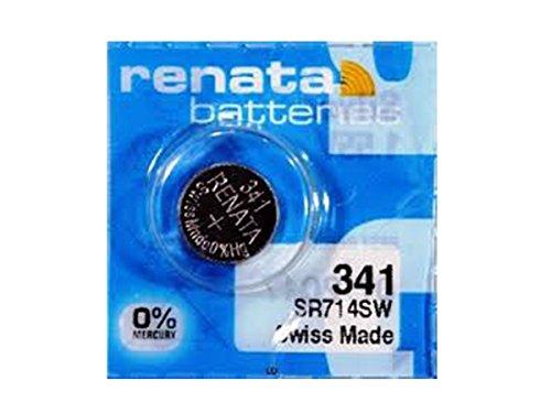 #341 Renata Watch Batteries 5Pcs