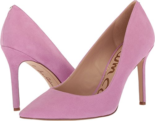 (Sam Edelman Women's Hazel Pump, Fiji Pink Suede, 8 Medium US)