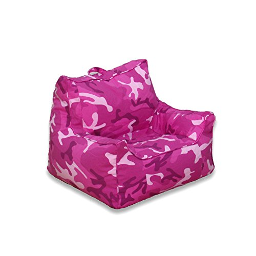 Pink Camouflage Bean Bag Chair - 6