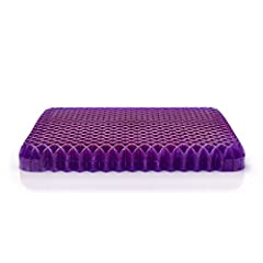 The Royal Purple No-Pressure seat cushion relieves leg, hip, and back pain when sitting at work or while traveling. Whether you work in an office, as a delivery driver, or spend a lot of time working or playing at your computer, we think you'...