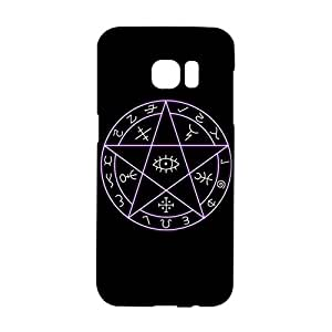 Samsung Galaxy S7 Edge Phone Case, Pentagram and Pentacle Pattern Custom Durable 3D Snap on Case for Samsung Galaxy S7 Edge