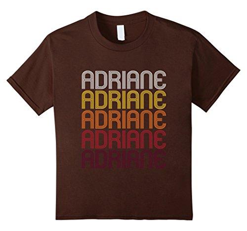 Kids Adriane Retro Wordmark Paragon - Vintage Style T-shirt 8 Brown