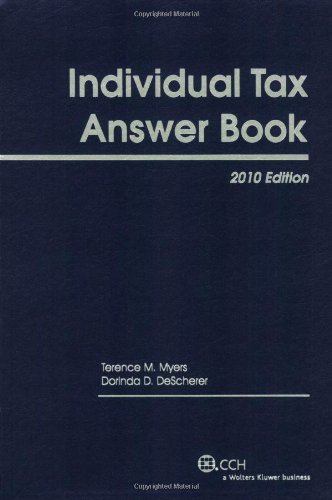 Individual Tax Answer Book, 2010