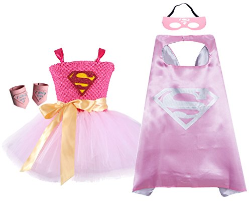 AQTOPS Supergirl Outfit for Baby ()