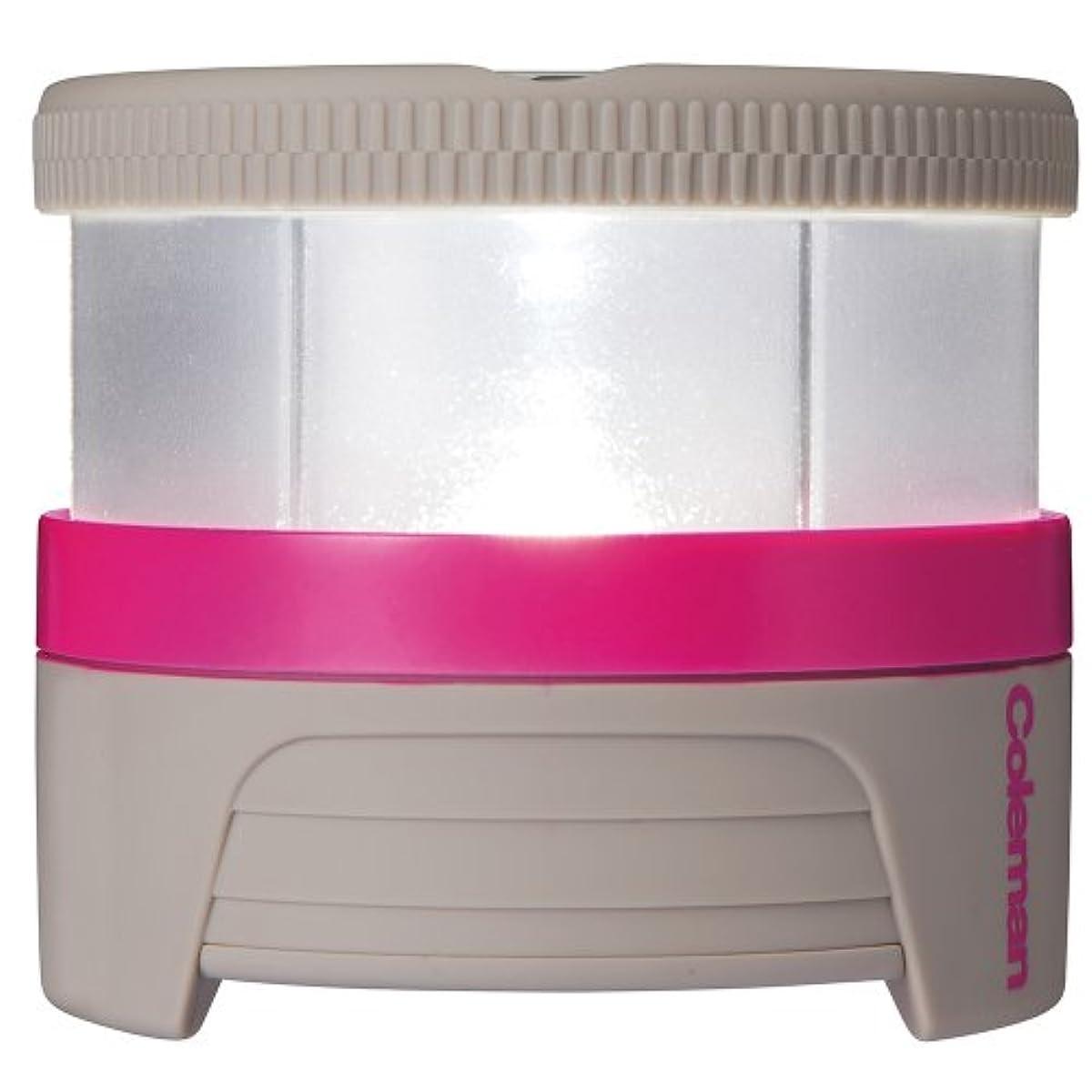 [해외] 콜맨 LED충전식 팩 라이트 그레이/핑크 2000016985