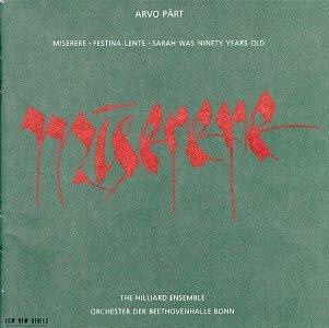 Part: Miserere by ECM New Series