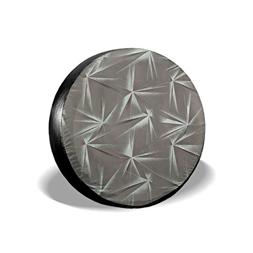 Spare Tire Cover, Origami Printing Wheel Protectors PVC Waterproof Dustproof for Jeep Trailer SUV RV and Many Vehicles(14,15,16,17 Inch) -