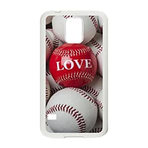baseball Unique Design Cover Case with Hard Shell Protection for SamSung Galaxy S5 I9600 Case lxa#242745