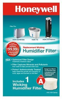 Honeywell HAC504V1 Replacement Filter For Natural Cool Moisture Humidifiers by Honeywell