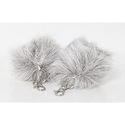 Star Trek Plush Tribble Key Chain - Gray Tundra Tribble: Toys & Games
