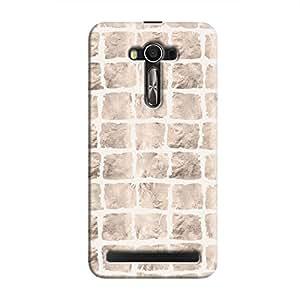 Cover It Up - Rock White Break Zenfone 2 ZE550ML/ZE551ML Hard case