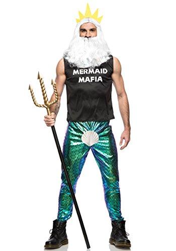 Male Mermaid Halloween Costumes (Men's Mermaid Mafia Costume -)