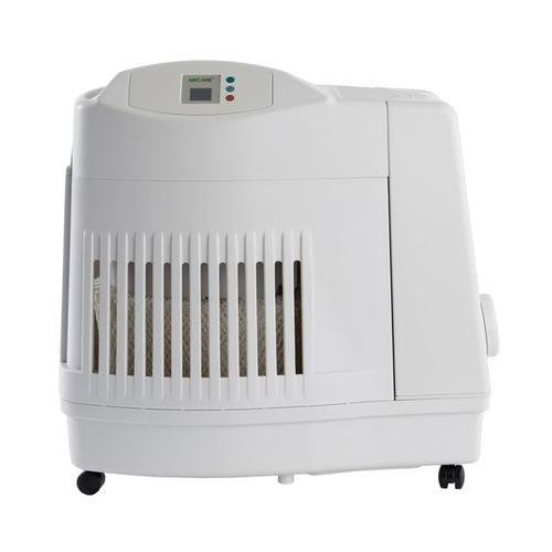 AirCare MA1201 Whole-House Console-Style Evaporative Humidifier, White by AirCare