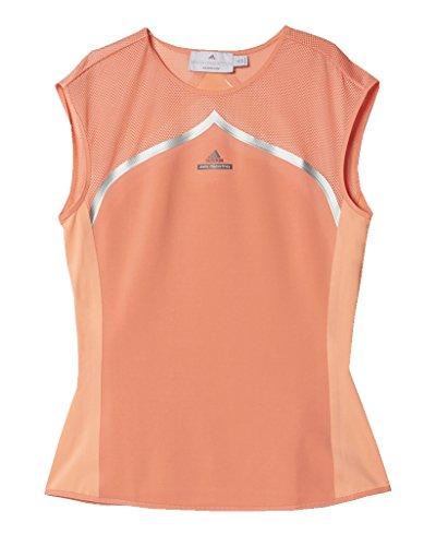 Adidas Stella McCartney Women's Tee Australia Coral Pink/Orange - Medium ()