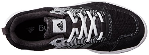 adidas Essential Star 3 M, Scarpe da Ginnastica Uomo, Nero (Negbas/Plamet/Neguti), 44 EU