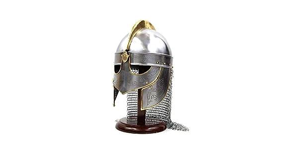 Amazon.com: szco Suministros M – Casco de vikingo con ...
