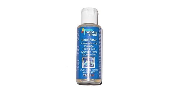 Lana de oveja - Turbo filzer para fieltrar - 50 ml - (1 x 1pieza): Amazon.es: Oficina y papelería