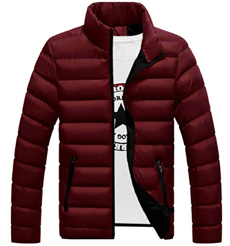 Puffer Down Jacket Gocgt Lightweight Coats Men's 1 Quilted Packable qwvzAStI