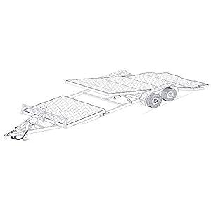 Amazon 24 gravity tilt car hauler trailer plans blueprints 24 gravity tilt car hauler trailer plans blueprints model 24gt malvernweather Gallery