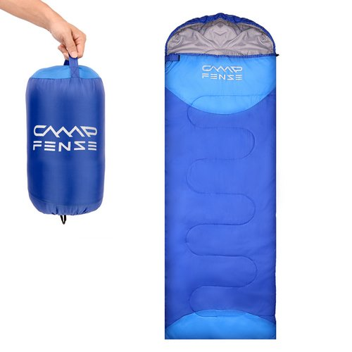 CampFENSE Sleeping Bag Temperature Rating 30 60 Lightweight Portable Backpacking Outdoor Hiking Camping Equipment Tools Gear For Kids Youth Adult Men