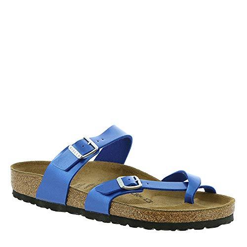 Birkenstock Women's Mayari Sandal Electric Ocean Birko-Flor Size 41 M -