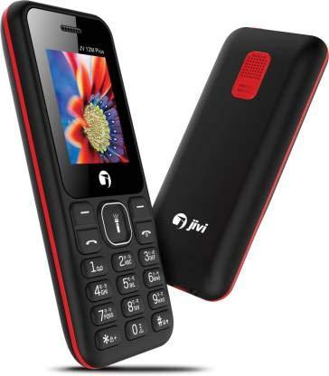 JIVI 12M Plus  1.8 inch Display  amp; 1000 MAH Battery   Black Red
