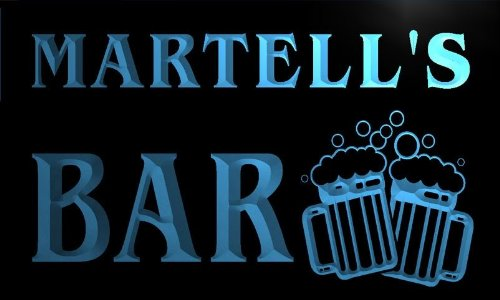 w003424-b-martells-name-home-bar-pub-beer-mugs-cheers-neon-light-sign