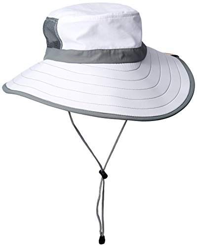 RainierSun Women's Sun Hat, White, One Size