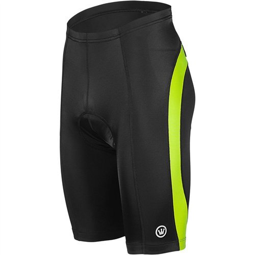 Canari Men's Blade Gel Cycling Shorts, Killer Yellow, X-Large