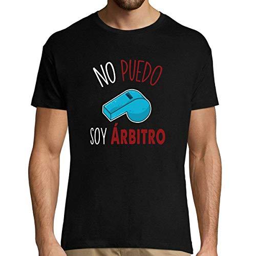 No Puedo Soy árbitro | Camiseta Hombre Diseño Humor para árbitros