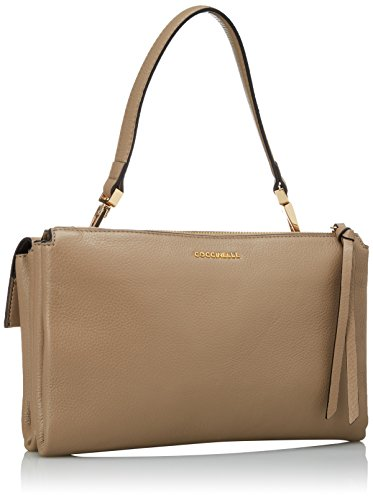 Coccinelle Maletín taupe Bolsos Mujer Arlettis Beige 18nq1RSZw